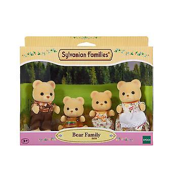 Família de famílias Sylvanian urso