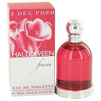 Halloween freesia eau de toilette spray von jesus del pozo 429492 100 ml