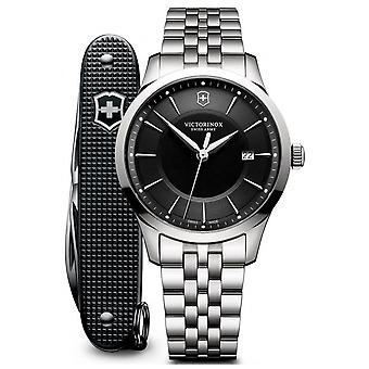 Victorinox alliance Swiss Quartz Analog Man Watch with Stainless Steel Bracelet V241801.1