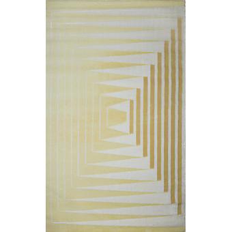 Pierre Cardin design matta i akryl Grädde/Beige