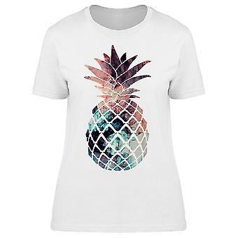 Pineapple Art Graphic Tee Women's -Image by Shutterstock