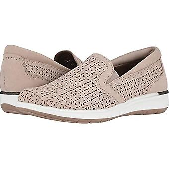Walking Cradles Womens orleans blush Suede Low Top Slip On Fashion Sneakers