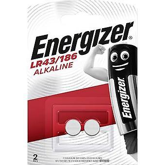 Energizer AG12 Cellule de bouton LR43 Alkali-manganèse 123 mAh 1.5 V 2 pc(s)