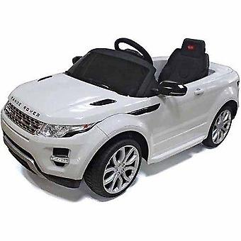 Licensed Range Rover Evoque 12V Electric Ride On Car White