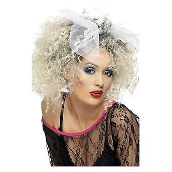 Las mujeres de los años 80 niño salvaje peluca disfraces accesorios