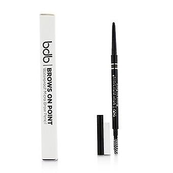 Billion Dollar Brows Brows On Point Waterproof Micro Brow Pencil - Taupe - 0.045g/0.002oz