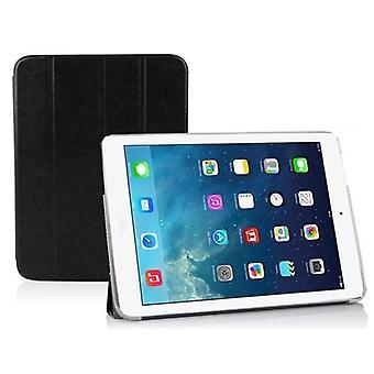 Cadorabo - > Apple iPad AIR < Ultra Slim Smart Cover Schutzhülle im Book Style mit Auto Wake Sleep und Standfunktion – Case Cover Bumper Etui in DOMINO SCHWARZ