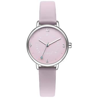 Mr wonderful dream forever Quartz Analog Woman Watch with Synthetic Leather Bracelet WR55100
