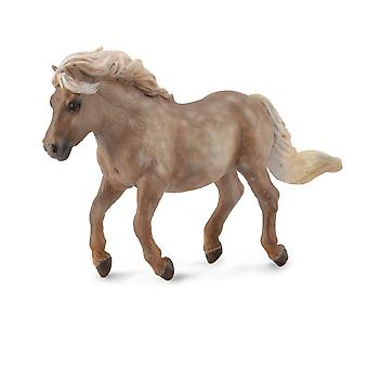 CollectA Shetlannin poni hopea Dapple
