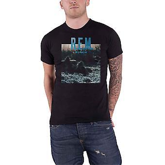 REM R.E.M. T Shirt Murmur Album cover Band Logo new Official Mens Black