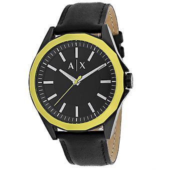 Armani Exchange Men's Dress Black Dial Watch - AX2623