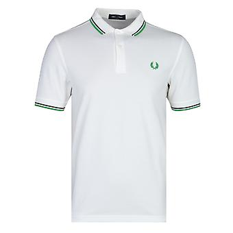 Fred Perry M3600 Chemise polo blanche neige
