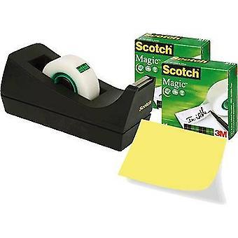 3M 7100040323 Desk tape dispenser Scotch® Magic™ 810 Matt (L x W) 33 m x 19 mm 3 pc(s)