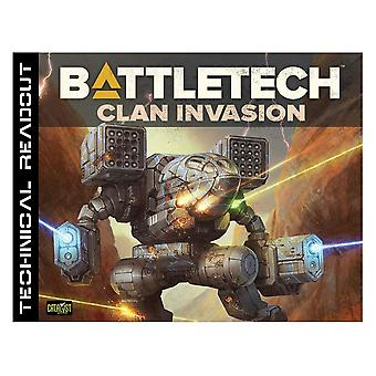 Battletech Technical Readout Clan Invasion - Gaming Book