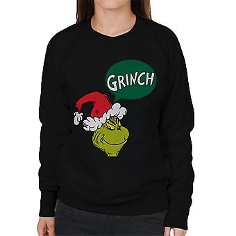 The Grinch Speech Bubble Women's Sweatshirt