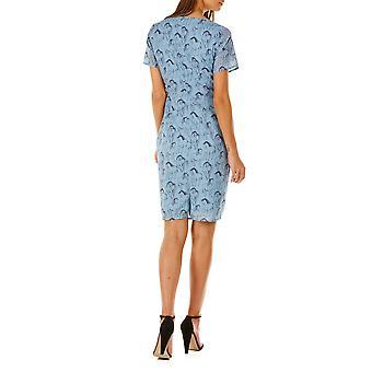 Sugarhill Boutique naisten ' s sininen gayna juoksu joutsenet mekko