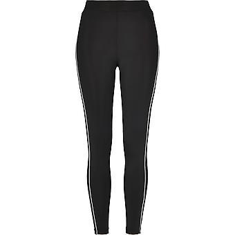 Urban Classics kvinders leggings høj talje reflekterende
