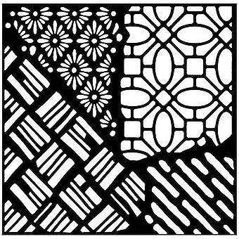 Woodware 6in x 6in stencil Quattro
