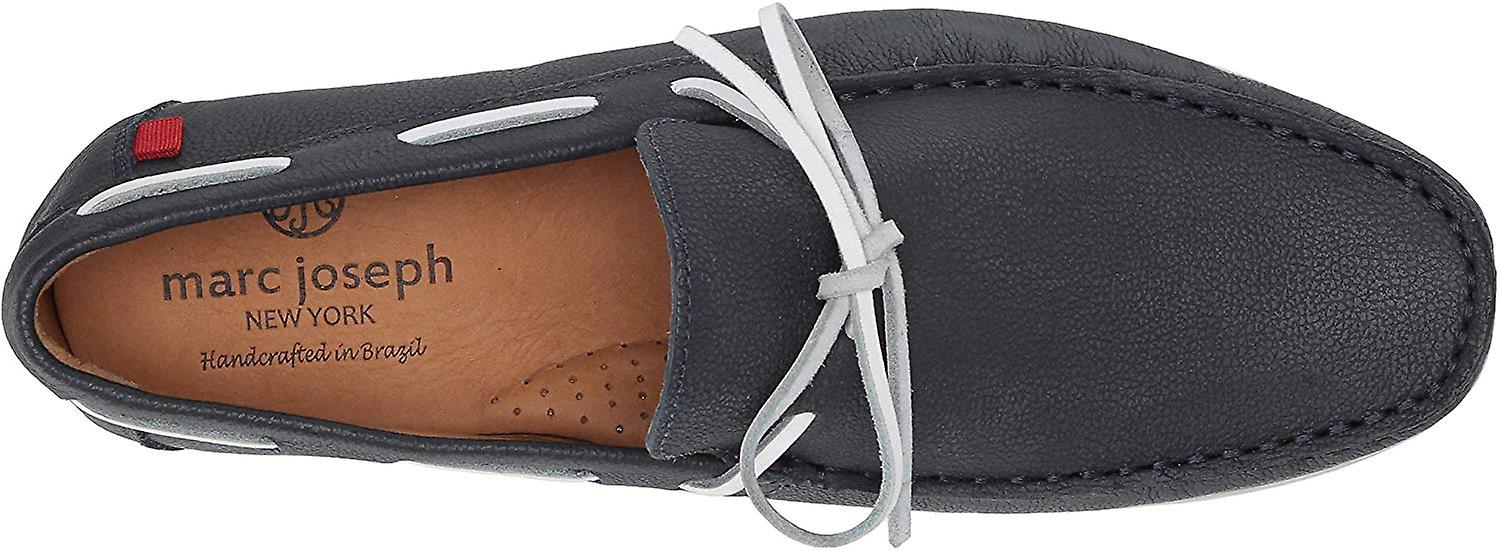 MARC JOSEPH NEW YORK Mens Leather Made in Brazil St. Marks Driver Driving Sty...