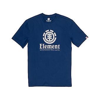 Element Vertical Short Sleeve T-Shirt in Blue Depths