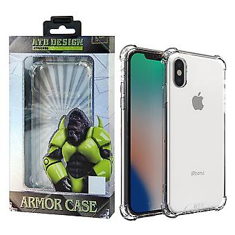 ATB Design Anti Shock Case TPU+PC iPhone X/XS Transparent