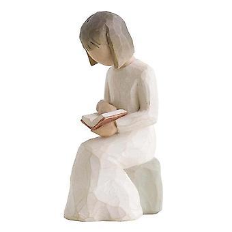 Figurine de sagesse d'arbre de saule