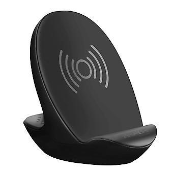 Qi vezeték nélküli töltődokkoló állomás Bluetooth hangszóróval 6H Akkumulátor-Akashi, Fekete