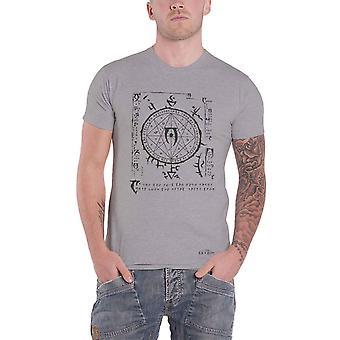 The Elder Scrolls T Shirt Mysterium Xarxes Logo new Official Mens Grey