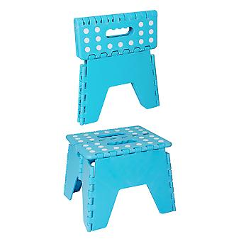 Charles Bentley Folding Stool With Anti Slip Spots