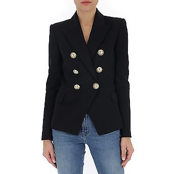 Balmain Tf17110v0930pa Women's Black Cotton Blazer