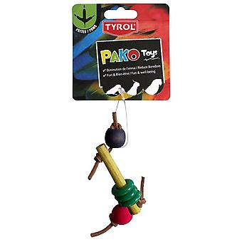 Tyrol Dedes leketøy Pako Paws (fugler, leker)