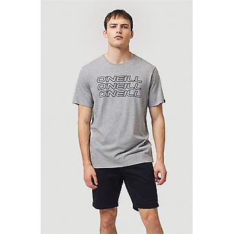 O'Neill Men's Camiseta de plata 3PLE
