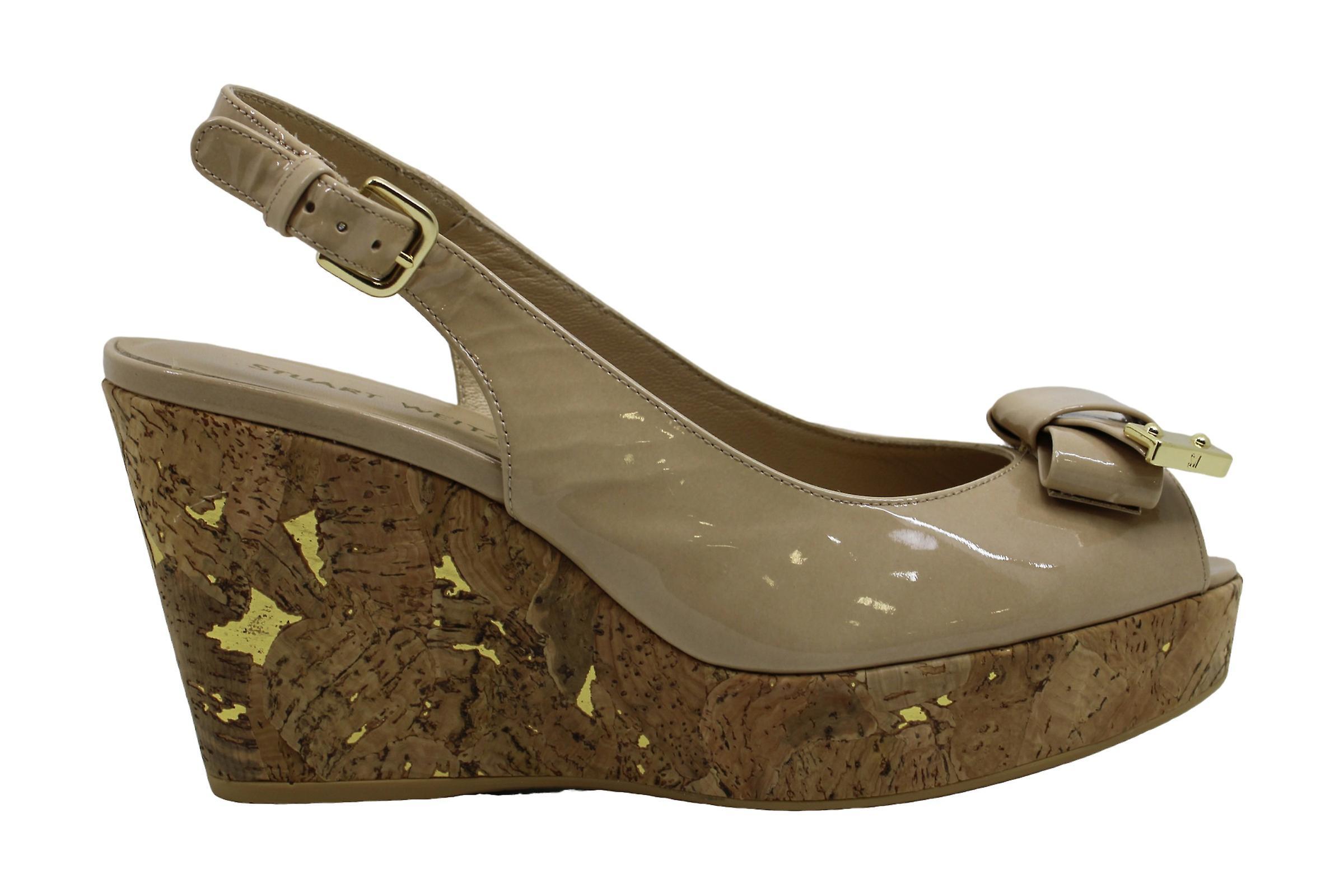 Stuart Weitzman Womens Bodajean Peep Toe specjalne okazje sandały na platformie RMgwx