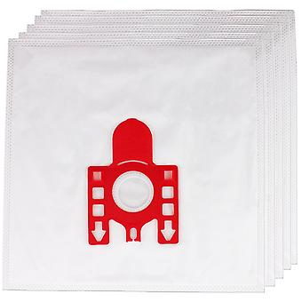 Non-woven Fabric Bag For Vacuum Cleaners  Pack Of 5  Fits Most Canisters  In Microfibre  With Filter