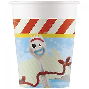 Toy Story 4 Karton Tassen | Papierbecher 8-Pack