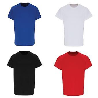 TriDri Mens Embossed Sleeve T-shirt