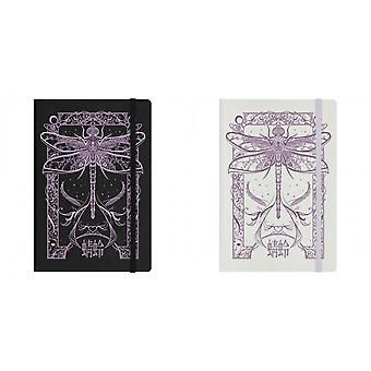 Grindstore Cryptic Dragonfly A5 Hard Cover Notebook