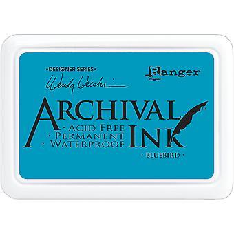 Wendy Vecchi Arkiv Blekk Pad - Bluebird