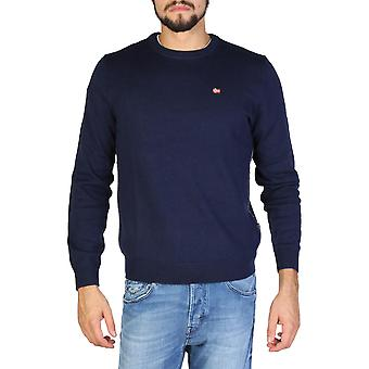 Napapijri Original Men Fall/Winter Sweater - Blue Color 32267