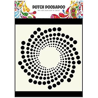 Olandese Doobadoo Dutch Maschera Art stencil Sun 15x15cm 470.715.602