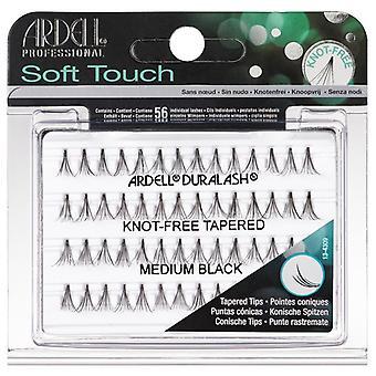 Ardell Soft Touch Singolo Nodo Senza Coniqui Medio Nero