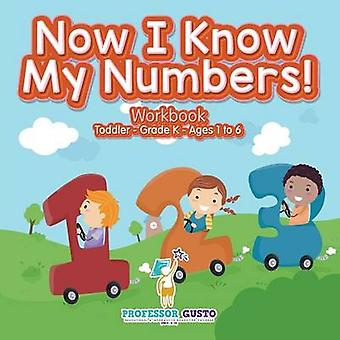 Now I Know My Numbers Workbook   ToddlerGrade K  Ages 1 to 6 by Gusto & Professor
