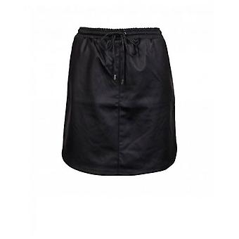 Saint Tropez Faux Leather Mini Skirt