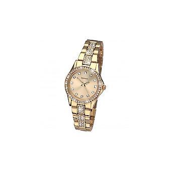 Sekonda Ladies 'Starfall' Gold Stone Set Bracelet Watch 2020