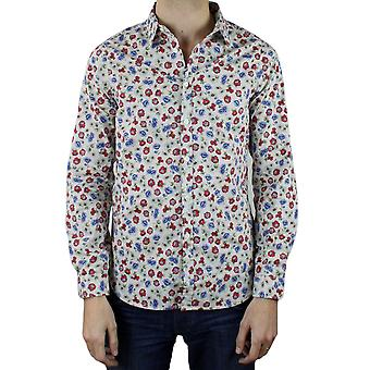 Fitted patterned shirt