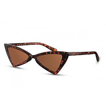Sonnenbrillen  Damen Schmetterling mehrfarbig/braun (CWI2266)