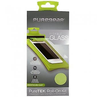 LG G4 PUREGEAR PURETEK ロール スクリーン プロテクター小売の準備ができて - ガラス