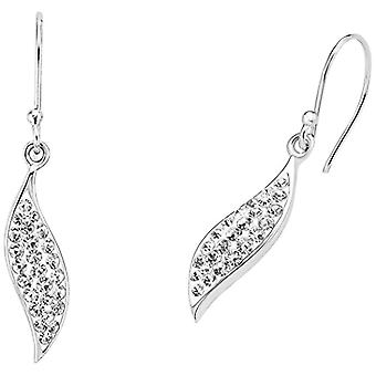 Amor 925 silver white Crystal FINEEARRING