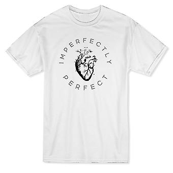 Imperfectly Perfect Heart Graphic Men's T-shirt