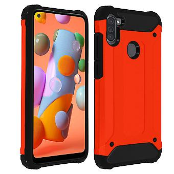 Défenseur II Series Protection Case Samsung Galaxy A11, Drop proof (1,80m) - Rouge
